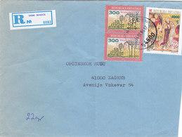 Croatia Registered Cover Nasice 1994 - Croatia