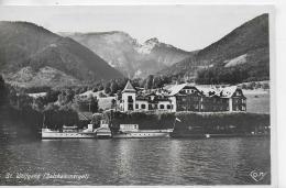 "AK 0903  St. Wolfgang Am Wolfgangsee Mit Dampfer "" Kaiser Franz Josef I. "" / Verlag Cosy Um 1928 - St. Wolfgang"