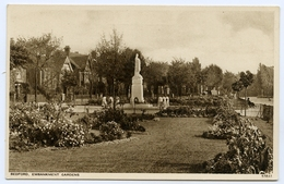 BEDFORD : EMBANKMENT GARDENS - Bedford
