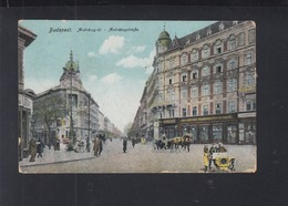 Hungary PPC Budapest Andrassy-St. 1917 - Hungary