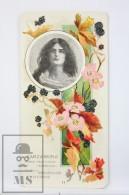 Old Modernist Trading Card / Chromo Flower -  Blackberry & Model - Jaime Boix Nº 11 - Documentos Antiguos