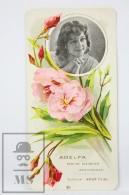 Old Modernist Trading Card / Chromo Flower -  Oleander & Model - Jaime Boix Nº 20 - Documentos Antiguos