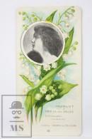 Old Modernist Trading Card / Chromo Flower -  Muguet & Model - Jaime Boix Nº 22 - Documentos Antiguos