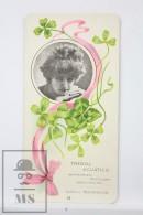 Old Modernist Trading Card / Chromo Flower -  Aquatic Clover & Model - Jaime Boix Nº 24 - Documentos Antiguos