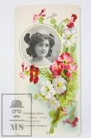 Old Modernist Trading Card / Chromo Flower -  Cowslip & Model - Jaime Boix Nº 29 - Documentos Antiguos