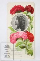 Old Modernist Trading Card / Chromo Flower - Amaranth & Model - Jaime Boix Nº 47 - Documentos Antiguos