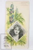 Old Modernist Trading Card / Chromo Flower - Wolfsbane & Model - Jaime Boix Nº 51 - Documentos Antiguos