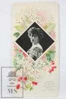 Old Modernist Trading Card / Chromo Flower - Cornus Sanguinea & Model - Jaime Boix Nº 62 - Documentos Antiguos