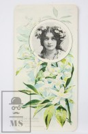 Old Modernist Trading Card / Chromo Flower - Orange Blossom & Model - Jaime Boix Nº 97 - Documentos Antiguos