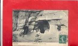 SASSENAGE . ENTREE DES CUVES + 3 ENFANTS . AFFR LE 17-5-1910 SUR RECTO - Sassenage