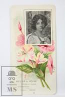 Old Modernist Trading Card / Chromo Flower - Mirabilis & Model - Jaime Boix Nº 34 - Documentos Antiguos