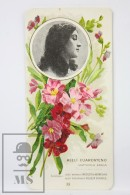 Old Modernist Trading Card / Chromo Flower - Matthiola & Model - Jaime Boix Nº 35 - Documentos Antiguos