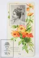 Old Modernist Trading Card / Chromo Flower - Crowfoot & Model - Jaime Boix Nº 44 - Documentos Antiguos