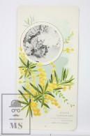 Old Modernist Trading Card / Chromo Flower - Prickly Moses & Model - Jaime Boix Nº 60 - Documentos Antiguos