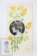 Old Modernist Trading Card / Chromo Flower - Hypericon & Model - Jaime Boix Nº 61 - Documentos Antiguos