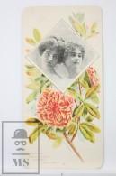 Old Modernist Trading Card / Chromo Flower - Pomegranate & Model - Jaime Boix Nº 64 - Documentos Antiguos