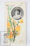 Old Modernist Trading Card / Chromo Flower - Camellia & Model - Jaime Boix Nº 84 - Documentos Antiguos