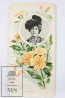 Old Modernist Trading Card / Chromo Flower - Climbing Guinea & Model - Jaime Boix Nº 85 - Documentos Antiguos