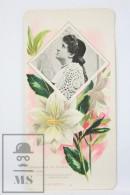 Old Modernist Trading Card / Chromo Flower - Harebell & Model - Jaime Boix Nº 90 - Documentos Antiguos