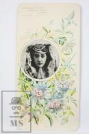 Old Modernist Trading Card / Chromo Flower -Passion Flower & Model - Jaime Boix Nº 93 - Documentos Antiguos