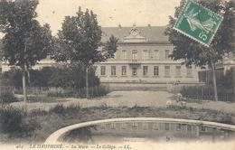 484. LE DAUPHINE . LA MURE . LE COLLEGE . AFFR LE 11-7-1912 SUR RECTO - La Mure