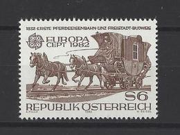 AUTRICHE . YT  Europa  1541  Neuf **  1982 - Europa-CEPT