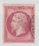 FRANCE    YT  N° 17B - 1853-1860 Napoleon III