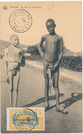 CENTRAFRIQUE, BANGUI - Un Noir Et Un Albinos - Central African Republic