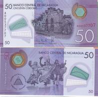Nicaragua - 50 Cordobas 2015 ( 2014 ) UNC Ukr-OP - Nicaragua