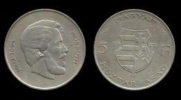 LAJOS KOSSUTH . 5 FLORINT 1947 . - Hungría
