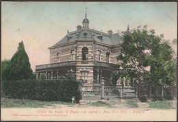 Melrose House, Pretoria, Transvaal, C.1905 - Sallo Epstein U/B Postcard - South Africa