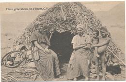 CAP VERT, St Vincent - Three Generations - Cape Verde