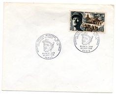 Enveloppe Premier Jour  / Géneral Leclerc / Paris / 23 Août 1969 - FDC