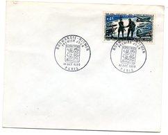 Enveloppe Premier Jour  / Normandie - Niemen / Paris / 18 Octobre 1969 - FDC