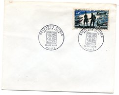 Enveloppe Premier Jour  / Normandie - Niemen / Paris / 18 Octobre 1969 - 1960-1969