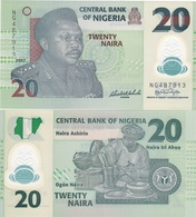 Nigeria - 20 Naira 2007 - 6 Digits UNC Ukr-OP - Nigeria