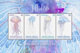 Grenada Grenadines  2018 Fish Marine Life  Jellyfish I201805 - Grenada (1974-...)
