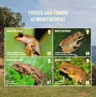 Montserrat   2018 Frogs And Toads  I201805 - Montserrat