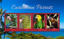 St. Vincent & Grenadines  2018 Birds Parrots I201805 - St.Vincent & Grenadines