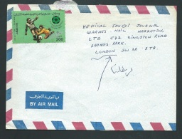 Lsc De Libye  Affranchie En 1992 Pour London ( Great Britain )     Lo24519 - Libië
