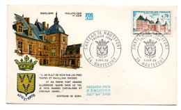 Enveloppe Premier Jour  / Chateau De Hautefort /5-4-1969 - 1960-1969