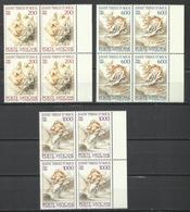 CITTA DEL VATICANO VATIKAN VATICAN CITY 1982 S. TERESA SERIE COMPLETA COMPLETE SET MNH - Vaticano
