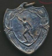 EXPOSITION UNIVERSELLE DE BRUXELLES * XXXIIe FETE FEDERALE BELGE DE GYMNASTIQUE * 1910 * J. FISCH * 3 X 2.5 * 11 GR - Belgique