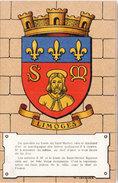 LIMOGES -  Héraldique Des Villes Et Provinces De France Par Maurice JACQUEZ  (96610) - Limoges