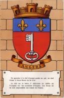 ANGERS - Héraldique Des Villes De France Par Maurice Jacquez   (66712) - Angers