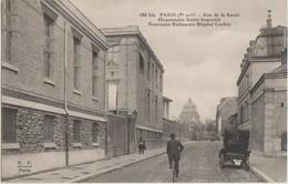 CPA 75 PARIS XIV XIII Rue De La Santé Dispensaire Saint Augustin Nouveaux Bâtiments De L'Hôpital Cochin - District 14