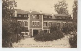 LOURDES - HOTEL PAVILLON PORTUGAIS - Entrée Coté Avenue Reine Astrid - Lourdes