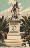 CARTE POSTALE ORIGINALE ANCIENNE : TOULON  LE MONUMENT AUX MORTS POUR LA PATRIE VAR (83) - Monumenti Ai Caduti