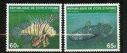 Côte D'ivoire, Yvert 510A&B, Scott 521A&B, MNH - Côte D'Ivoire (1960-...)