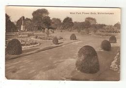 CPA WOLVERHAMPTON West Park Flower Beds  Peu Commune - Wolverhampton